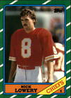1986 Topps Football You Pick/Choose Cards #230-396 RC + Inserts *FREE SHIPPING*
