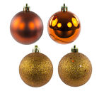 "2.4"" Colorful Ball Ornaments in 4 Finishes (Set of 24)"