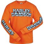 Snake Harley-Davidson Men's Name Shine Long Sleeve Shirt R003278 $35.0 USD on eBay