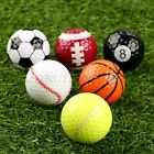 UK Stock 6 Assorted Great Creative Golf Balls Outdoor Training Gift Sports Fans