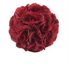"10"" Silk Roses Floral Kissing Ball - For Decor & Centerpieces - Various Colors"