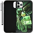 Custom Case For iPhone 11 Pro MAX XR XS MAX 7 8 Plus 6 Plus - Money and Weed