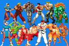 65009 Street Fighter - Fight Ryu Guile Ken ChunLi Game Wall Print POSTER UK