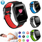 Bluetooth Smart Watch Fitness Tracker Heart Rate Monitor for Men Women Gift bluetooth Featured fitness for heart men monitor rate smart tracker watch