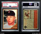 1962 Topps #301 Galen Cisco Red Sox PSA 7 - NMBaseball Cards - 213