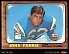 1966 Topps #122 John Farris Chargers San Diego St 6 - EX/MT $13.0 USD on eBay