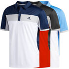Внешний вид - Adidas Golf Men's ClimaLite Blocked Polo Shirt NEW