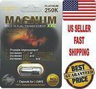 # 1 MAGNUM PLATINUM 250K MALE SEXUAL LIBIDO ENHANCEMENT PILL STAMINA, SIZE TIME $19.99 USD on eBay