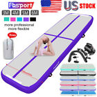 FBSPORT Airtrack Inflatable Air Track Floor Gymnastics Tumbling Mat GYM + Pump image