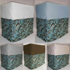 Canvas Brown & Teal Paisley Bread Machine Cover