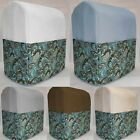 Canvas Teal Paisley Cover Compatible w/ Sunbeam Heritage Series 4.6qt Mixmaster