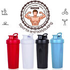 600ml Protein Shaker Bottle Mixing Grid Included BPA Free 20 Ounce Cup Tumbler
