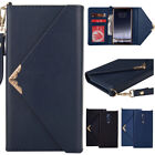 Envelope Magnetic Elegant Wallet Card Strap Shockproof Case Cover For Nokia 8/9