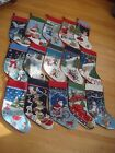 Lands' End Wool Needlepoint BLANK Christmas Stocking CHOICE ~Read Description~