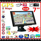 7 inch Touch Screen 8GB Car Truck Navigation Auto GPS Navigator with Free Maps