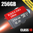 Kyпить Micro Memory Card 128GB 256GB 100MB/S Class10 4K Fast Flash TF Card with Adapter на еВаy.соm