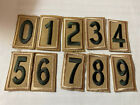Used Current Boy Scout Tan Troop Unit Numbers - Your Choice of Number Quantity
