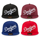 Los Angeles Dodgers MLB Script New Era 59FIFTY/9FIFTY Fitted/Snapback Cap Hat on Ebay