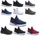 New Mens Athletic Running Shoes Casual Walking Gym Sneakers Light Weight  for sale  Shipping to Nigeria