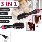 3 in1 Hair Blow Dryer Styling Curling Hot Air Curler Heat Brush Salon Ionic Kit