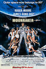 Posters USA - 007 Moonraker Movie Poster Glossy Finish - PRM075 $19.64 CAD on eBay