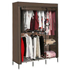 NEW 68  Portable Closet Wardrobe Clothes Rack Storage Organizer With Shelf USA
