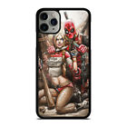 DEADPOOL HARLEY QUINN #3 iPhone 6/6S 7 8 Plus X/XS Max XR 11 Pro Max Case Cover