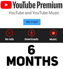 Youtube Premium & Youtube Music | WORLDWIDE | UPGRADE OWN ACC | FAST DELIVERY <br/> Enjoy your Youtube Premium without Ads and more feature