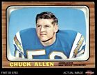1966 Topps #118 Chuck Allen Chargers Washington 5 - EX $6.25 USD on eBay
