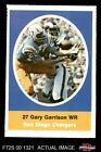 1972 Sunoco Stamps Gary Garrison Chargers San Diego St 6 - EX/MT $2.45 USD on eBay