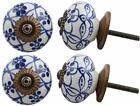 Appliance Knobs Ceramic Solid Dresser Knobs Cabinet Pulls Cupboard Pack of 4 photo