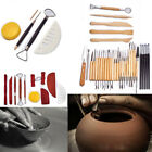 Clay Sculpting Tools Set Pottery Carving Wax Modeling Polymer Shapers Ceramic image