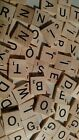 REPLACE LOST SCRABBLE TILES - NATURAL WOOD, MAROON, RED, BURGUNDY, BLACK, BLUE