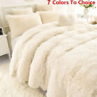 Winter Soft Shaggy Blanket Ultra Plush Quilt Warm Comfy Thicken Throw Bedding Nt image