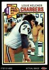 1979 Topps #525 Louie Kelcher - All-Pro Chargers SMU 5 - EX $0.99 USD on eBay