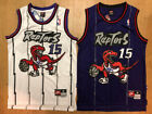 #15 Vince Carter Men's Toronto Raptors Throwback Swingman Purple / White Jersey on eBay