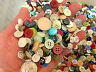 new lots of 100 buttons assorted mixed color and sizes bulk 1 4 inch to 3 4 in
