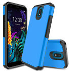 For LG Aristo 4+ / Neon Plus Case Shockproof Hybrid Hard Rugged TPU Armor Cover