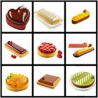 Pastry Tart Mould Dessert Pan Silicone Cake Mold For Baking Mousse 29 Styles cheap