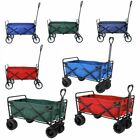 Heavy Duty Collapsible Outdoor Utility Wagon FoldGarden Portable Hand Cart Sport