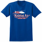Santini Air Airwolf Inspired T-shirt - Retro 80s USA Helicopter Stunt TV Tee image