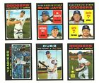 2020 Topps Heritage Baseball Singles: Stars, Rookies and High Numbers