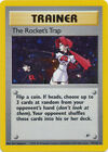 The Rocket's Trap Trainer Holo Pokemon Card Gym Heroes 19/132