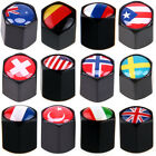 National Flag Pattern Car Tire Valve Caps Stem Cover Air Cap Anti-theft For BMW $10.3 USD on eBay