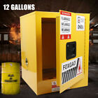 Safety Storage Cabinet Fireproof for Flammable Liquids 12 Gallon / 36 Gallon