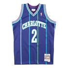 Larry Johnson Charlotte Hornets Hardwood Classics Throwback NBA Swingman Jersey on eBay