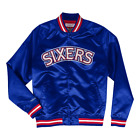 Philadelphia 76ers NBA Lightweight Satin Jacket on eBay