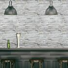 3D PVC Wall Stickers Self-adhesive Paper Brick Stone Home Decor Room Wallpapers