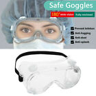 1/2/4/6PC Protective Glasses Anti Dust Fog Safety Goggles Work Eye Protection
