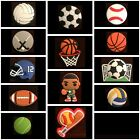 SPORTS Shoe Charms for Crocs Volleyball Baseball Softball Soccer Golf Tennis